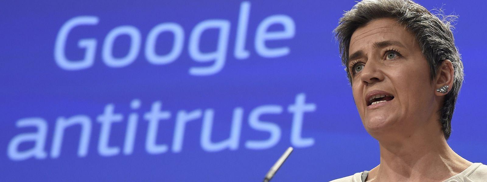 Google droht ein Bußgeld von aktuell bis zu 6,6 Milliarden Euro sowie Auflagen für sein Geschäftsmodell in Europa.
