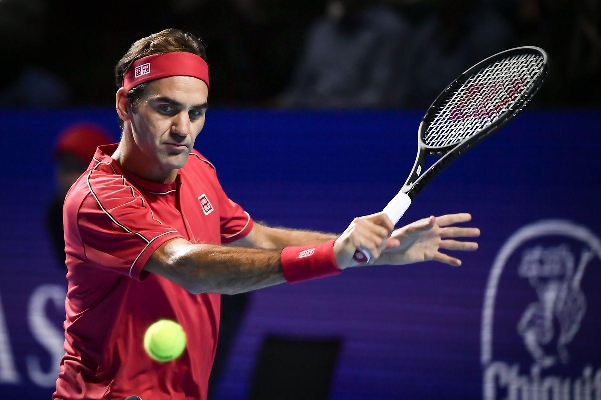 Roger Federer a été sacré pour la dixième fois dans sa ville natale, Bâle