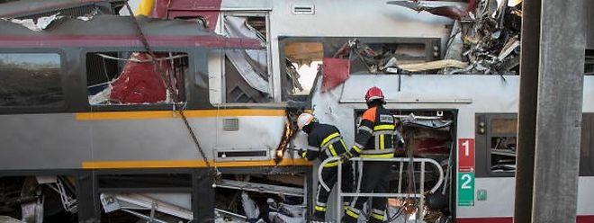 Ein Toter und zwei Verletzte: die dramatische Bilanz des Zugunglücks vom 14. Februar 2017.