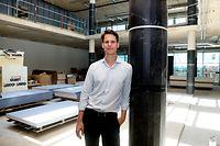 online.fr, Gespräch mit Antoine Paccoud, neues Gebäude Luxemburger Wort  Foto: Anouk Antony/Luxemburger Wort