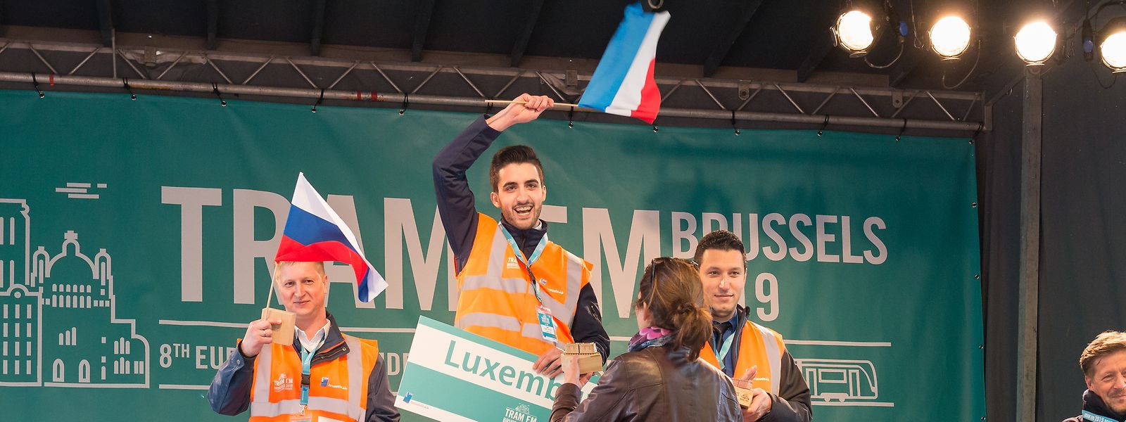 Tiago Ferreira, le meilleur conducteur de tram d'Europe 2019.