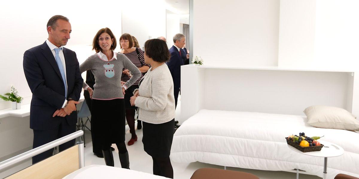 La ministre de la Santé a inauguré la nouvelle aile de la maternité de la clinique Bohler.