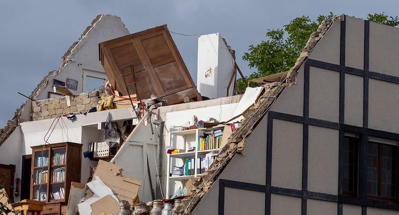 dégâts Tornade Pétange/Bascharage - Pétange Bascharage -  - 10/08/2019 - photo: claude piscitelli