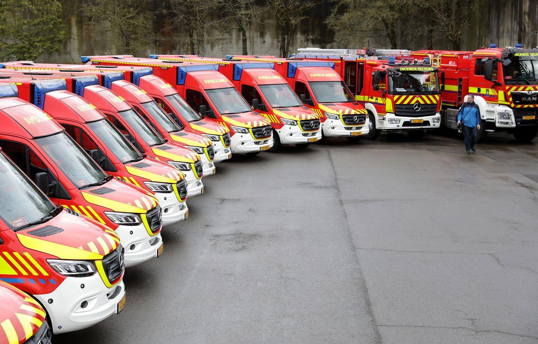 34 neue Rettungswagen hat der CGDIS geordert