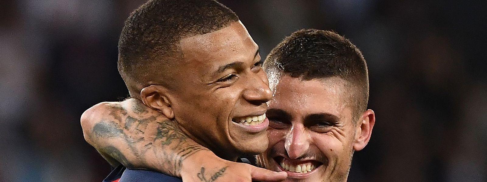 Kylian Mbappé et Marco Verratti ont prouvé face à Nîmes qu'ils étaient déjà en forme.