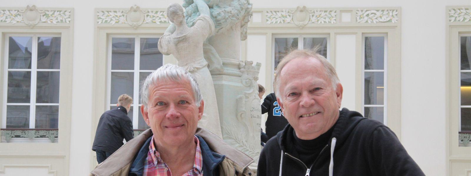 Die Cousins Reggie Lecorsais (l.) und Ken Stiles haben sich nun erst kennengelernt.