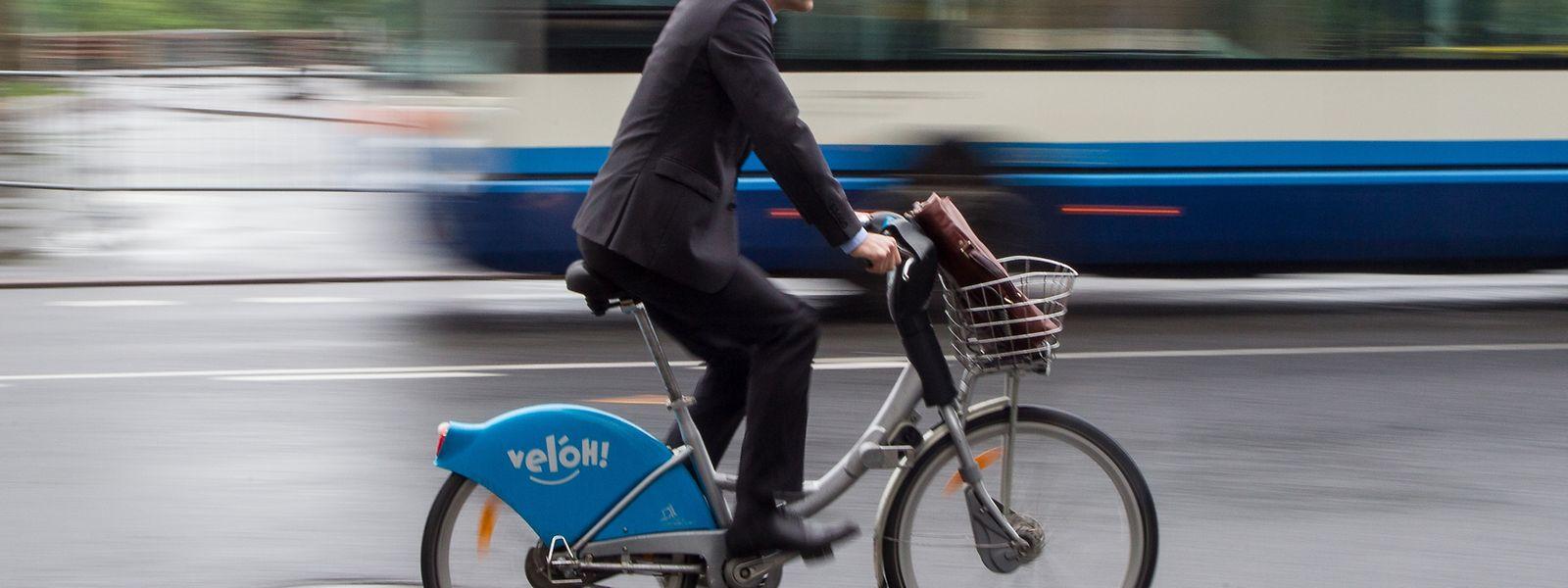 Radfahrer sollen sich, so fordert die LVI,  sicherer und schneller fortbewegen können.