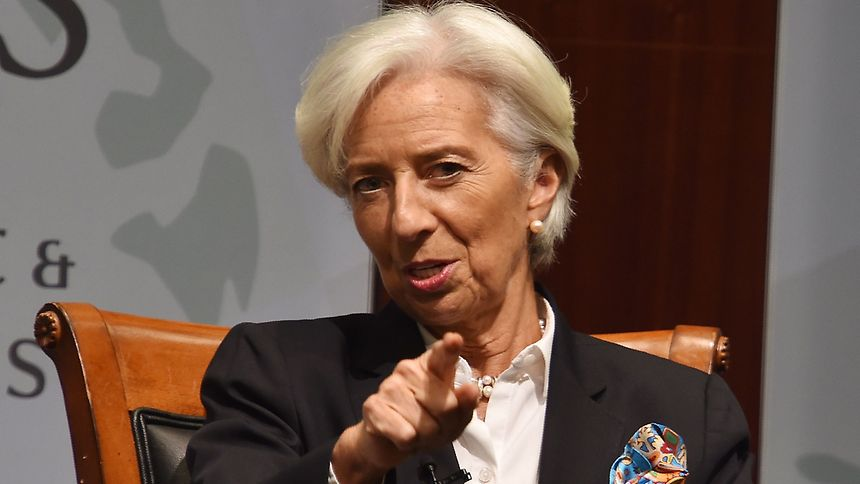 Christine Lagarde, atual Diretora-Gerente do FMI.