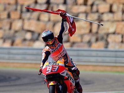 Quatrième victoire de la saison pour Marc Marquez. Le pilote espagnol peut envisager un troisième titre mondial.