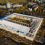Novo estádio nacional do Luxemburgo ganha forma