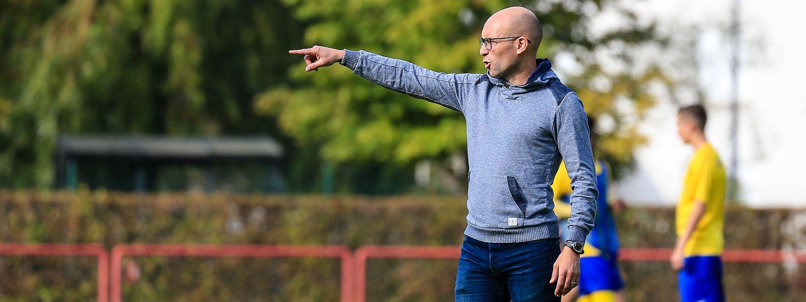 Georges Fernandes, treinador do Beggen, vai defrontar o Etzella, onde jogou vários anos.