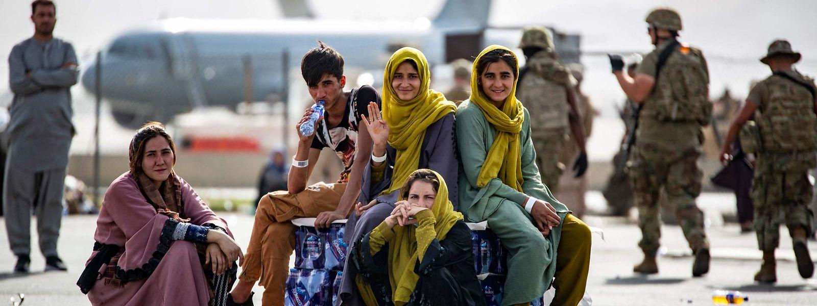 Selon Jean Asselborn, plus de 7.000 personnes se presseraient devant les grilles de l'aéroport de Kaboul, espérant quitter l'Afghanistan.