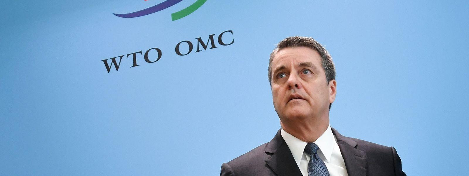 """""""Es scheint, dass schon die Drohung mit einer weiteren Eskalation einen Einfluss hat"""", warnte WTO-Direktor Roberto Azevêdo."""