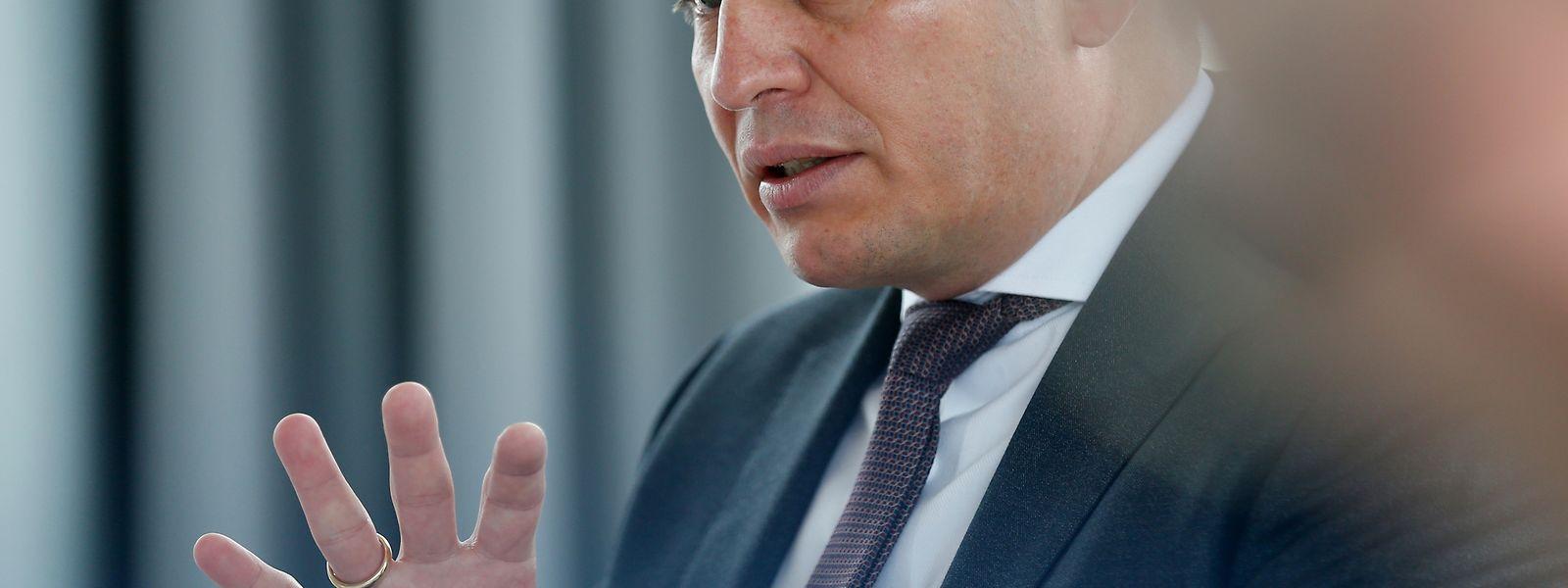 Der Vorstandsvorsitzende Frank Krings (45) trat erst im März 2016 die Nachfolge von Boris Liedtke an.
