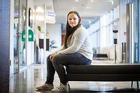 WI.Wat studéieren. ITV Viviane Gantrel.Foto: Gerry Huberty/Luxemburger Wort