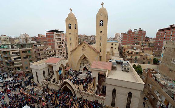 Kopten werden immer wieder Opfer von Gewalt in Ägypten