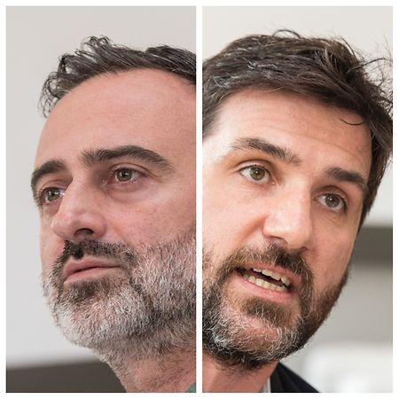 Avant leur interview au Luxemburger Wort, Brice Erniquin et Laurent Hericord ont fait la tournée des médias belges ces derniers jours. Sans sourciller, mais sans tout avouer.