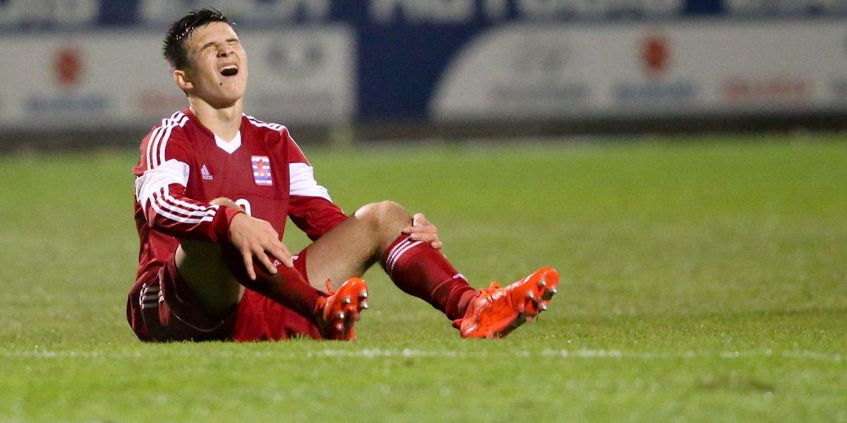 Yannick Schaus est frustré. Auteur d'une très bonne seconde période, le jeune joueur du Bayer n'est pas parvenu à prendre les trois points avec ses camarades U17.