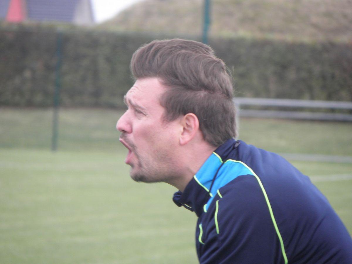 Joe Gales a mis en évidence les progrès de son équipe mais le compteur de Bourscheid est toujours à zéro.