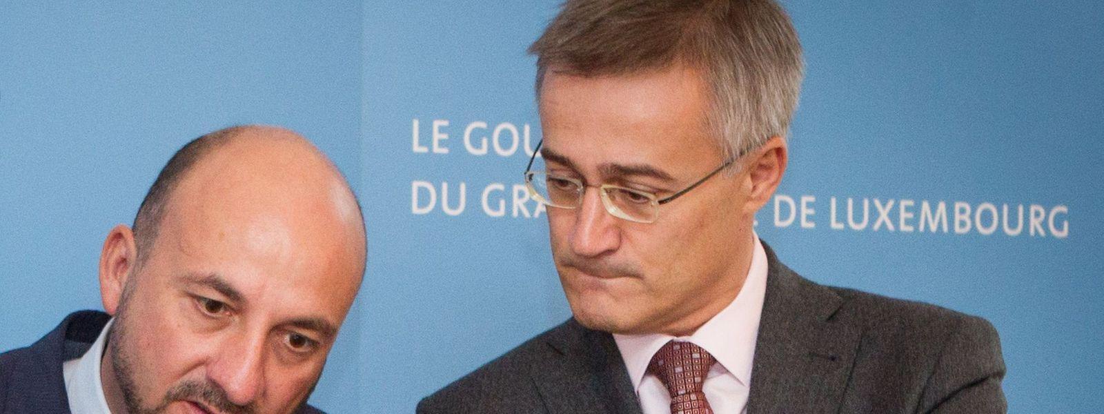 Der Minister für Innere Sicherheit, Etienne Schneider, und Justizminister, Félix Braz, befassten sich beide mit dem Fall Neuens, greifbare Antworten gab jedoch keiner von beiden.