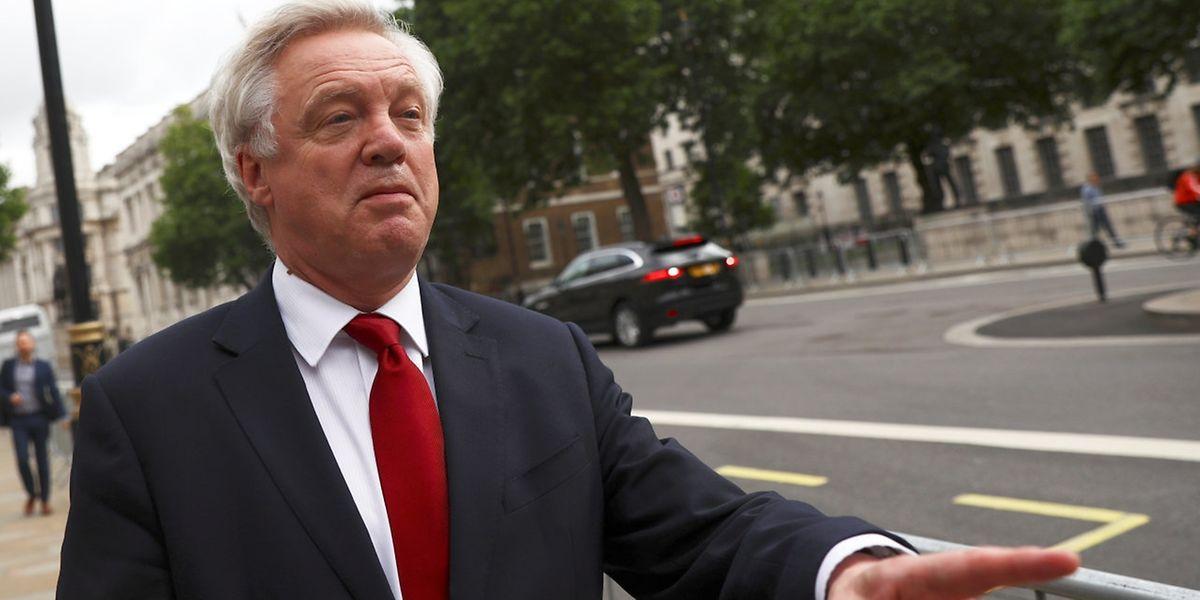 David Davis ist in der britischen Regierung für die Brexit-Verhandlungen zuständig.