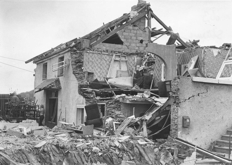La commune de Léglise avait été durement frappée en 1982.