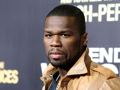 "U.S. rapper and actor 50 Cent arrives as a guest at the premiere of the new film ""End of Watch"" in Los Angeles September 17, 2012. REUTERS/Fred Prouser   (UNITED STATES - Tags: ENTERTAINMENT HEADSHOT)"
