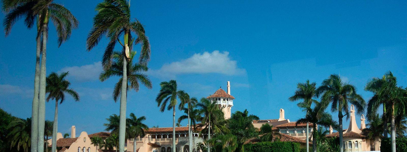 Donald Trump empfing in seinem Golfclub in Florida unter anderem den japanischen Premier Shinzo Abe.