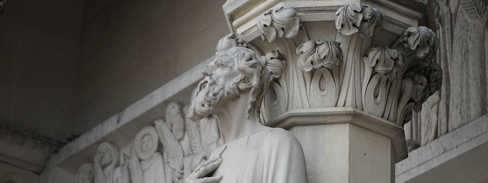 Die Kathedrale St. John the Divine wird zum Behelfs-Krankenhaus umfunktioniert.