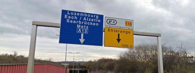 In der Ausfahrt Ehleringen nahm die Verfolgungsjagd ihr Ende.