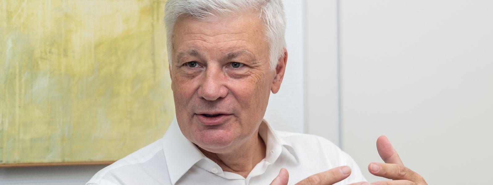 Der CSV-Vorsitzende Claude Wiseler ist zuversichtlich, dass seine Partei nach den internen Streitereien wieder zusammenfindet und dann auch wieder besser bei den Umfragen abschneidet.