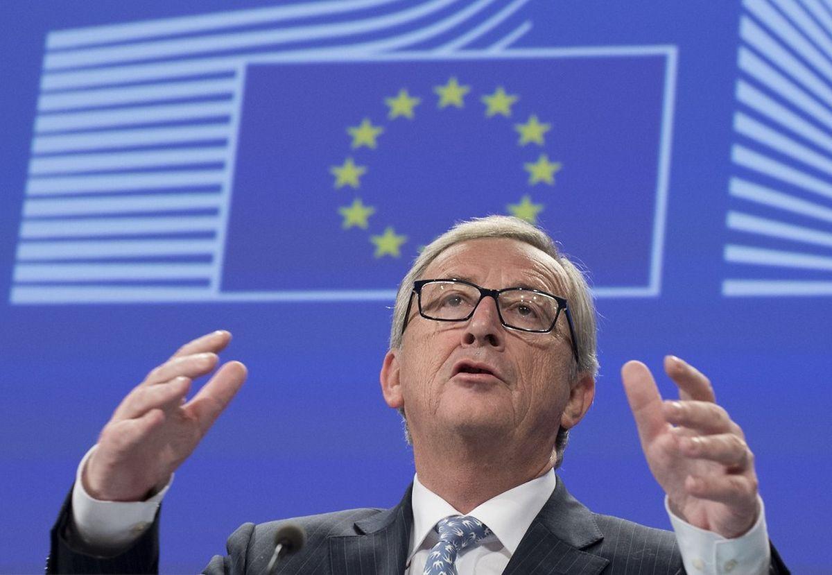 Jean-Claude Juncker le 5 novembre 2014
