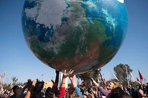 """""""Lasst uns den Planeten retten"""": COP22 in Marrakesch."""