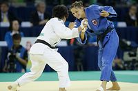 OLYMPIC GAMES BEIJING 2008,OLYMPISCHE SPIELE, JEUX OLYMPIQUES,JUDO, MARIE MULLER,  PHOTO GUY WOLFF 09.08.2008