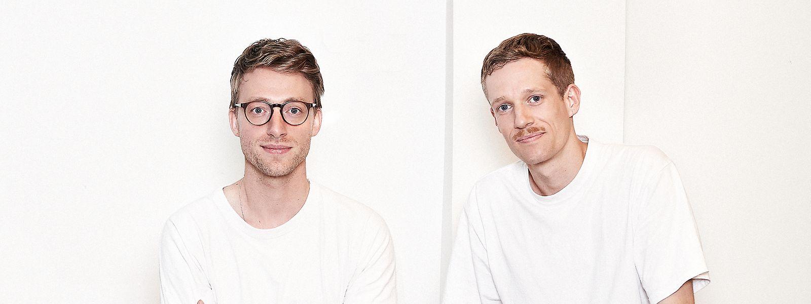 Kreatives Duo: Frank Michels aus Walferdingen (l.) und der gebürtige Schweizer David Geckeler.