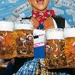 """Zum Themendienst-Bericht """"Tourismus/Deutschland/Brauchtum/KORR/"""" von Sabine Dobel vom 26. August: �O'zapft is� - f�r eine Ma� Bier m�ssen Wiesn-Besucher in diesem Jahr bis zu 8,30 Euro zahlen. (Die Ver�ffentlichung ist f�r dpa-Themendienst-Bezieher honorarfrei. Quellenhinweis: """"B. Roemmelt/Tourismusamt M�nchen/dpa/tmn"""". Das Bild darf nur in Zusammenhang mit dem genannten Text verwendet werden.) +++ +++"""