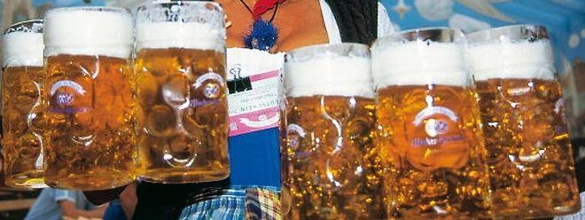 Auf dem Oktoberfest in München fließt viel Alkohol und lässt die Gemüter hochkochen - manchmal mit fatalen Folgen.