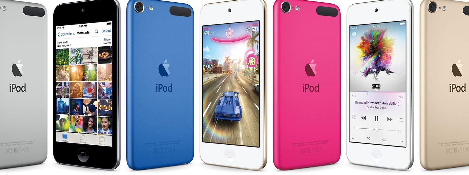 Den iPod Touch gibt es erstmals mit Acht-Megapixel-Kamera und 128 Gigabyte Speicher.