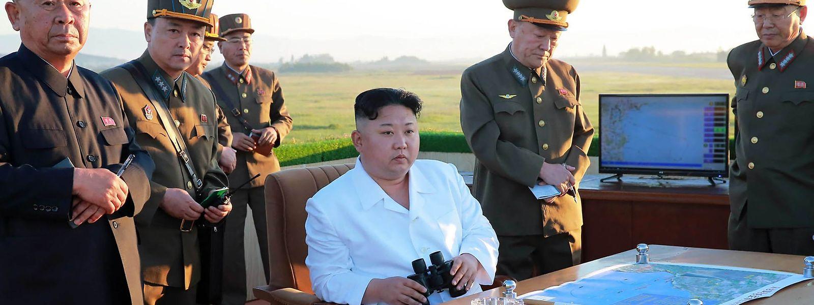 Nordkorea hat Informationen aus Militärkreisen zufolge vier Marschflugkörper abgeschossen.