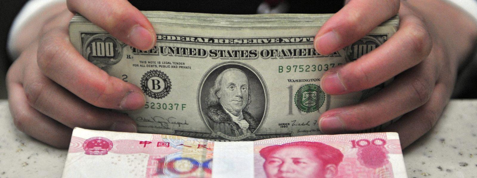 A escalada da guerra comercial entre China e Estados Unidos é uma das razões apontadas.