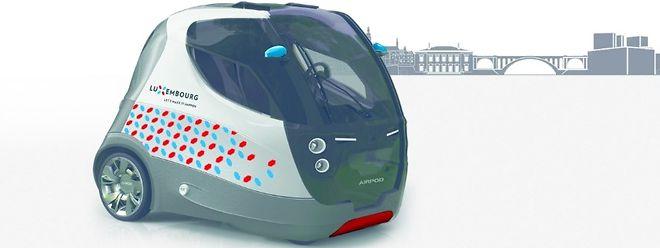 L'Airpod 2.0 a déjà été mise aux couleurs du Luxembourg