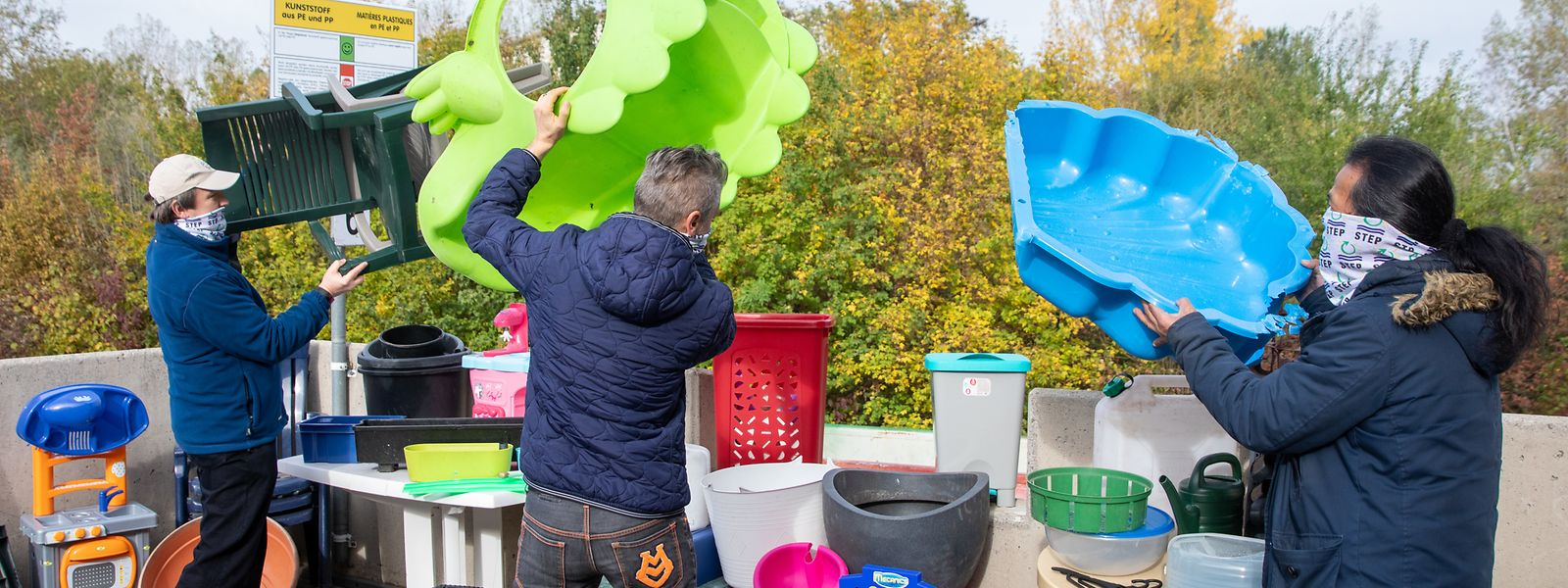 Solche Plastikgegenstände, die bisher im Sperrmüll landeten, werden von nun an im STEP-Recycling-Park in Düdelingen gesondert gesammelt und später recycelt.