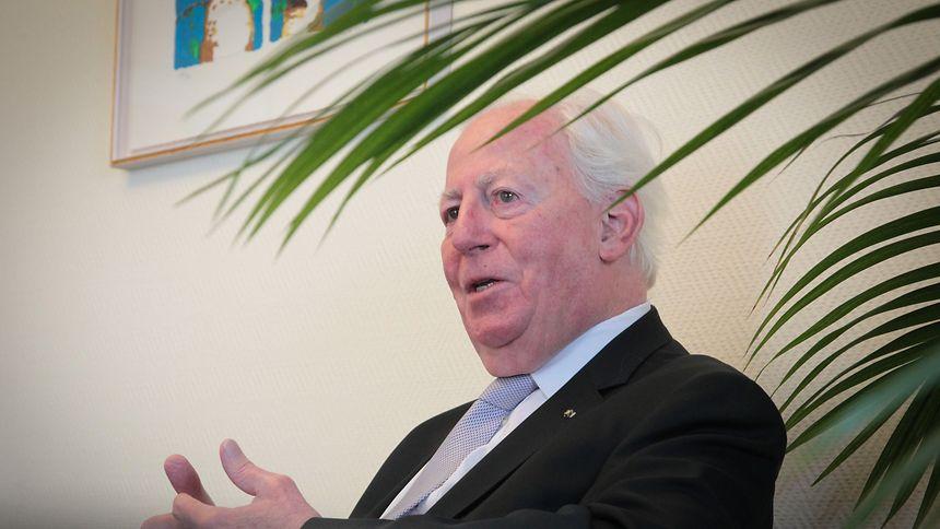 """""""Typisch für Jacques ist seine Gutmütigkeit"""", sagt Ex-Aussenminister Jacques Poos."""