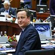 Britain's Prime Minister David Cameron takes part in a European Union leaders summit in Brussels, December 17, 2015. EU leaders are due to discuss on the migrant crisis and David Cameron's demands for reform of the bloc ahead of a referendum he plans to hold by the end of 2017 on Britain's continued memebership. REUTERS/Yves Herman