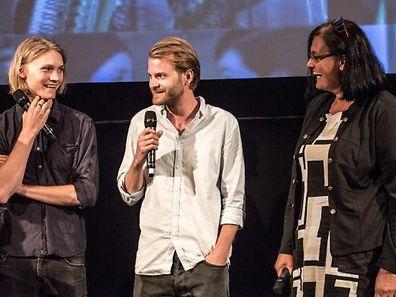 Quando os suecos se juntam em Cannes até podem acontecer sorrisos...