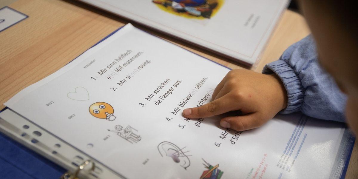 Pour l'instant, il s'agit d'un enseignement identique pour tous les écoliers mais avec le temps, le cours de luxembourgeois va s'adapter aux progrès des enfants.