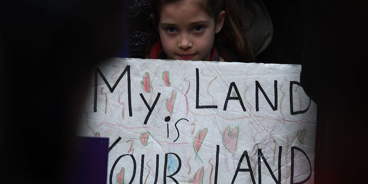 Überall in den USA machten Einwanderer ihrem Unmut Luft.