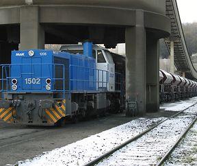 CFL 1502 chez Intermoselle à Rumelange