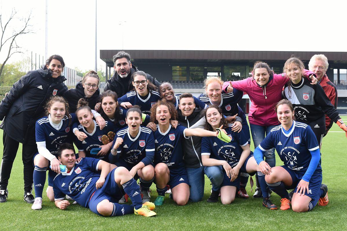 Avec sa victoire 0-2 contre Bettembourg II, le Fola Esch a signé son retour en Ligue 1.