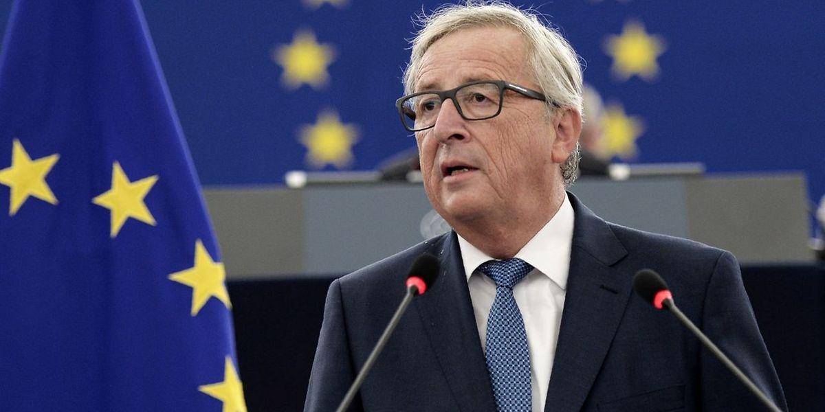 EU-Kommissionspräsident Juncker sieht die EU in schwierigem Fahrwasser, glaubt aber an eine Zukunft nach dem Brexit.